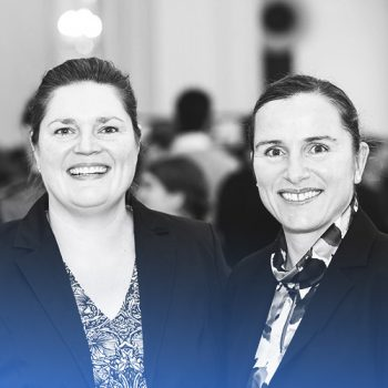 Nicole Schönleber and Jenny Kopsch-Xhema